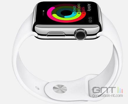 Apple Watch couronne digitale