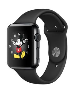 Apple Watch gris sombre