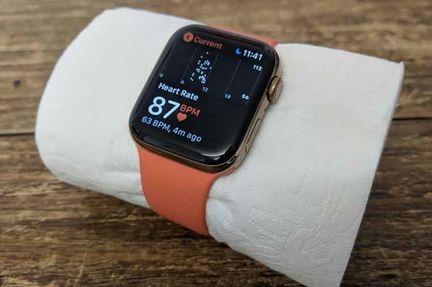 Apple Watch papier toilette