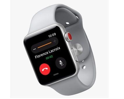 apple watch series 3 la montre connect e peine. Black Bedroom Furniture Sets. Home Design Ideas