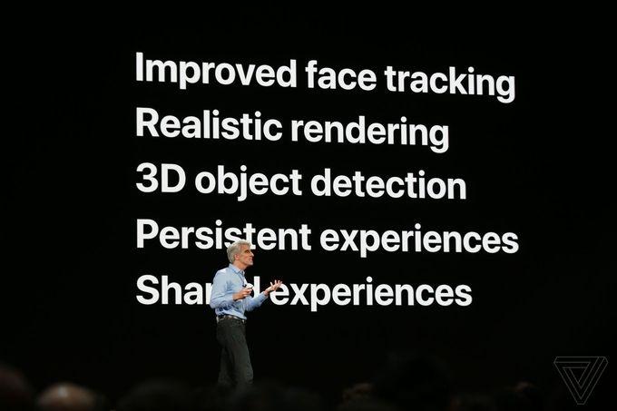Apple WWDC ARKit 2
