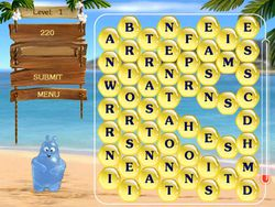 Aqua Words screen