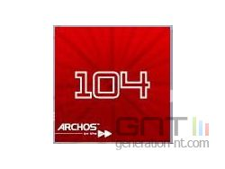 Archos 104 Boot Screen