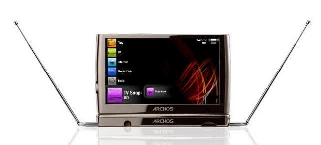 Archos 5 TV Snap On TNT