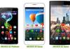 Smartphones Archos : quatre grands modèles à moins de 200 euros pour le MWC de Barcelone