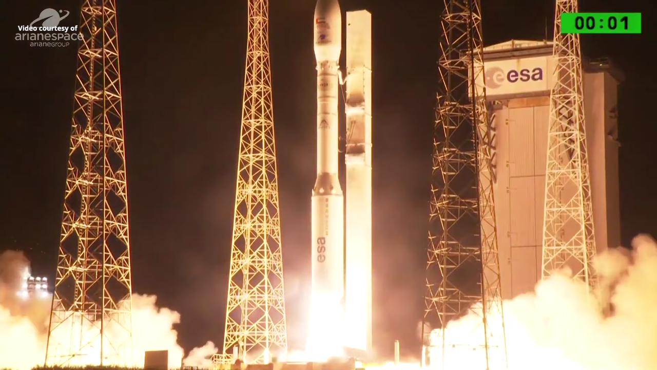 Arianespace: échec du lancement d'une fusée Vega