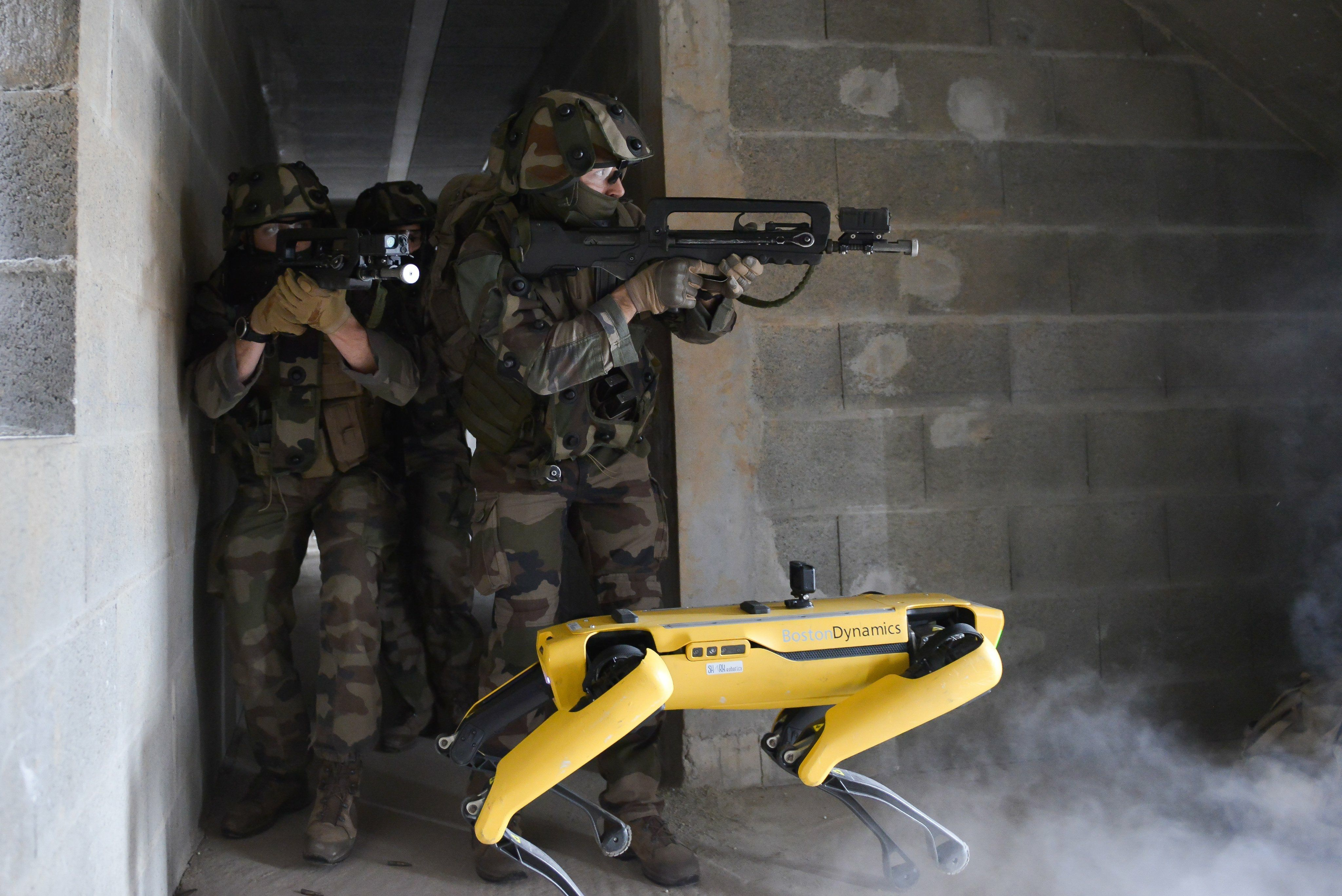 Armée FR boston dynamics