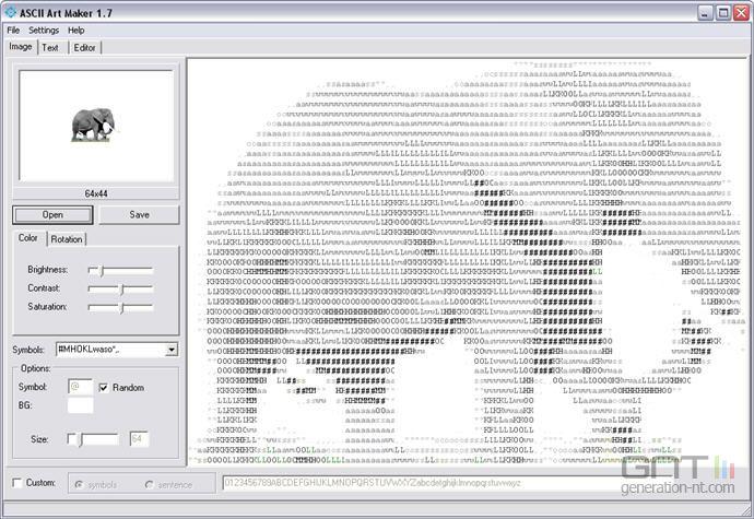 ASCII Art Maker screen 1