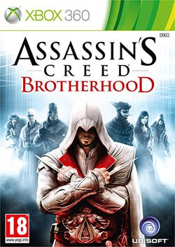 Assassin's Creed Brotherhood - Jaquette Xbox 360