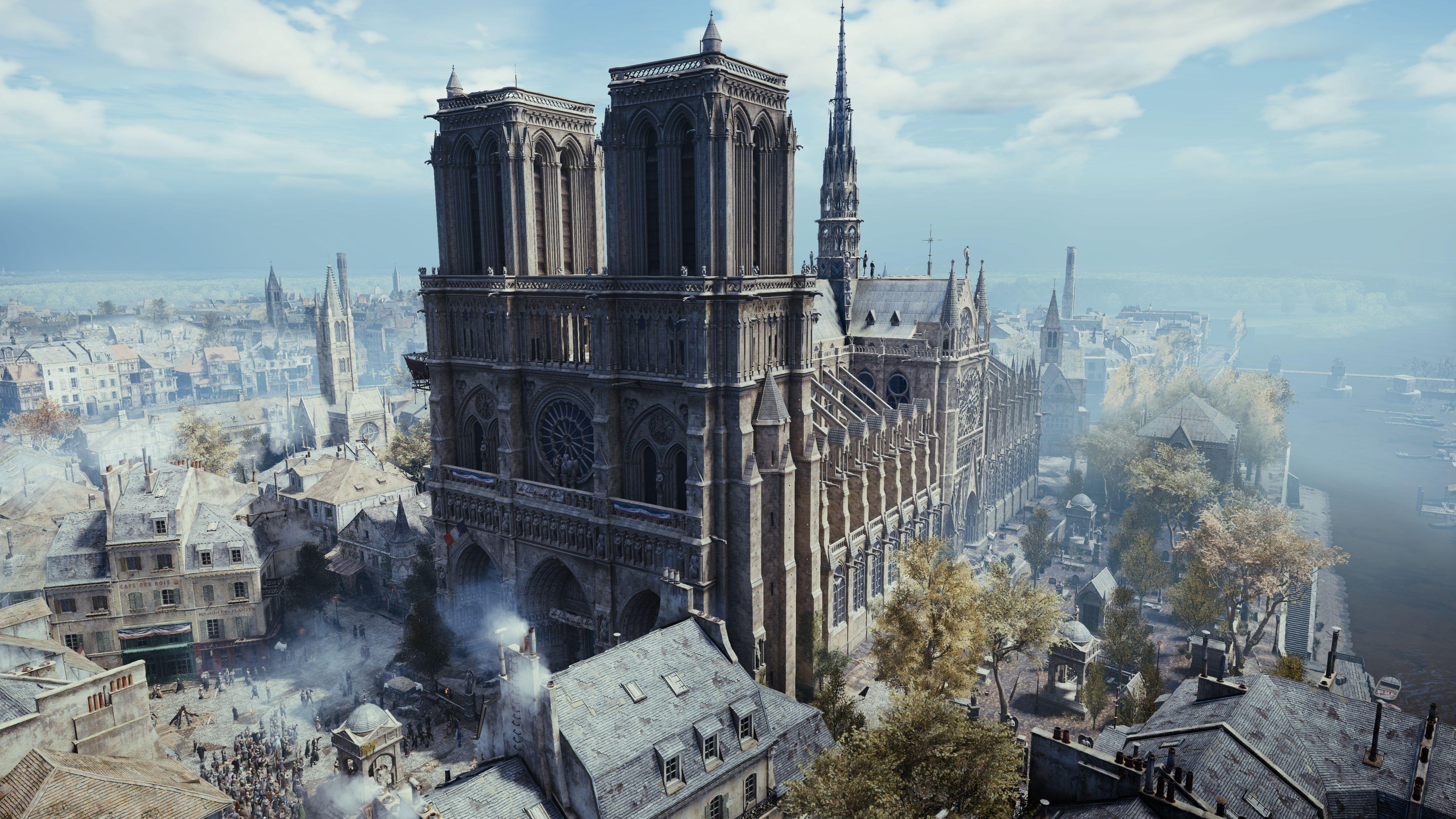 Notre Dame de Paris : Ubisoft offre 500 000 dollars, Assassin's Creed Unity et son aide pour la reconstruction