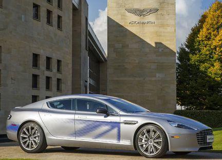 Aston Martin RapidE vignette
