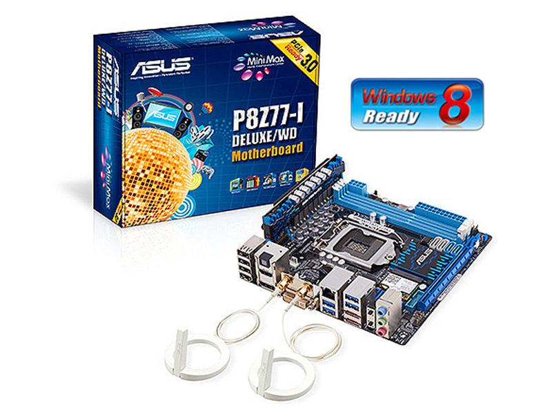 Asus P8Z77-I Deluxe/WD : carte mère Z77 avec technologie WiDi