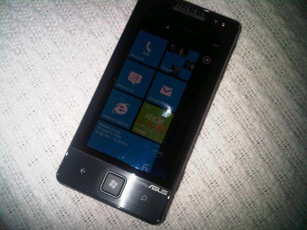 Asus WP7 smartphone.