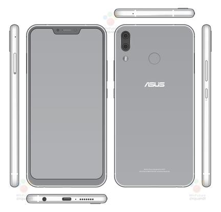 Asus ZenFone 5 rendu