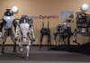 Boston Dynamics : un impressionnant robot Handle qui roule et saute!