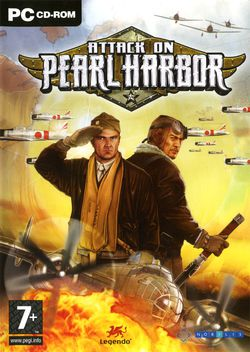 Attack on pearl harbor packshot