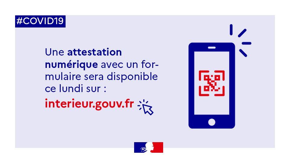 Attestation de déplacement sur smartphone : ce sera de nouveau possible le 6 avril !