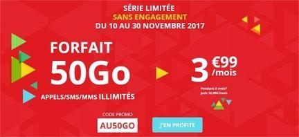 Auchan télécom 50 Go