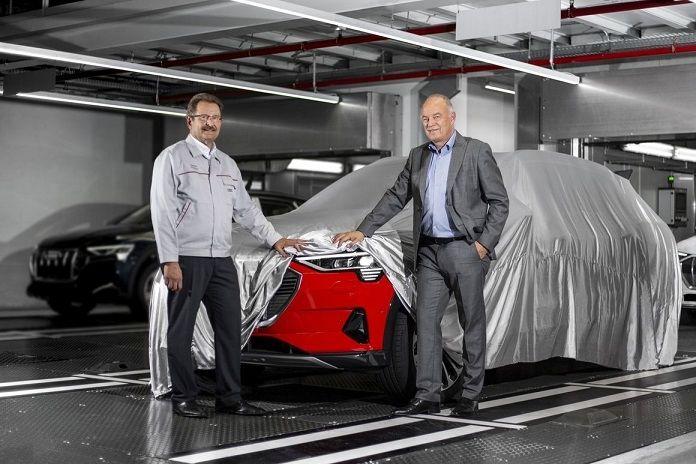 Audi e-tron : le constructeur lance la production de son premier SUV tout électrique
