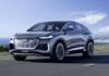 Audi lance un nouveau crossover électrique Q4 e-tron Sportback disponible à la vente en 2022