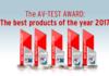 AV-Test: les meilleures suites de protection de l'année