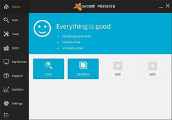 Avast Premier screen1