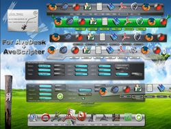 Avedesk screen 1