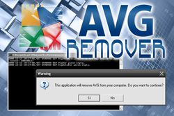 AVG Remover screen2