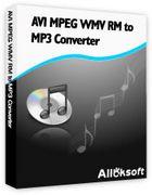 AVI MPEG WMV RM to MP3 Converter : convertir des vidéos en fichiers audio