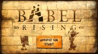 Test Babel Rising