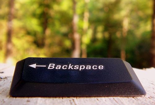 Firefox va aussi tuer Backspace