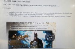 Batman Arkham HD Collection