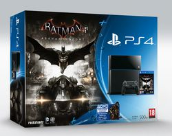 Batman Arkham Knight - pack PS4