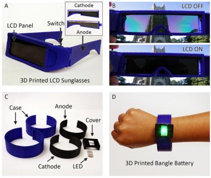 batterie imprimée 3D