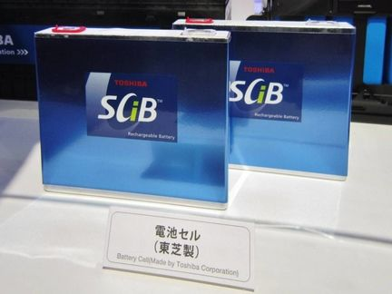 Batteries SCIB TOshiba