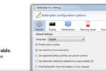 BatteryBar : le logiciel à qui confier la surveillance de sa batterie