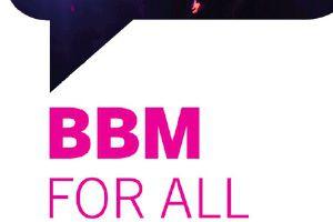 BBM iOS Android logo