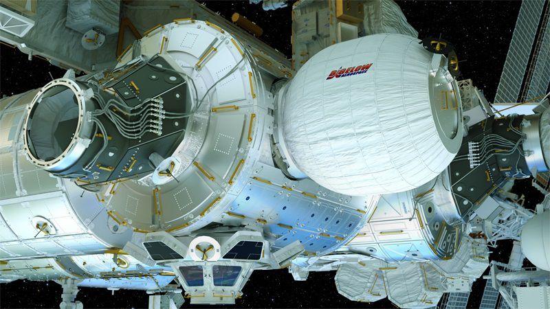 ISS : le module gonflable BEAM pourra rester relié à la station spatiale