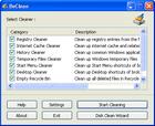 BeClean : un utilitaire de nettoyage