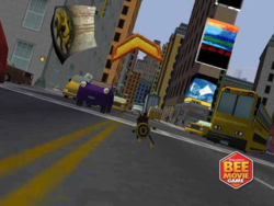 Bee Movie Game screen 2