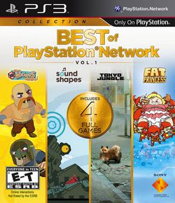 Best of PlayStation Network Vol.1 - pochette