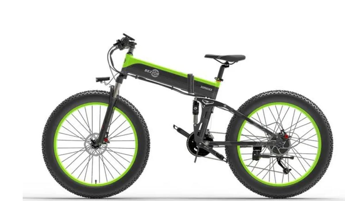 BEZIOR X1500 : le vélo électrique tout terrain surpuissant en forte promotion, mais aussi le X1000