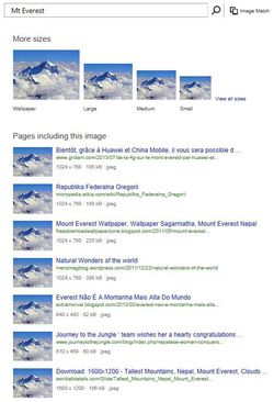 Bing-Image-Match-Everest-1