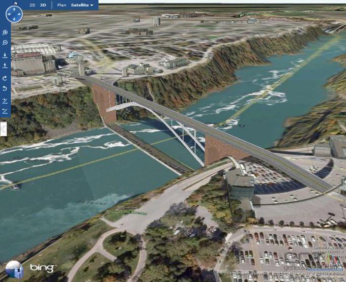 Bing Maps 3D screen1