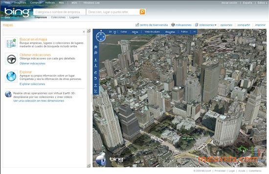 Bing Maps 3D screen2
