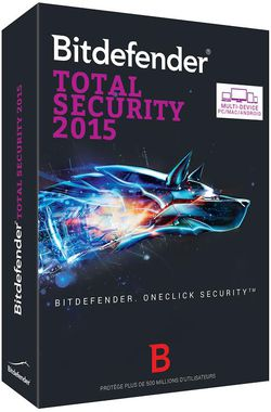 Bitdefender Total Security 2015 boite