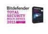 Test Bitdefender Total Security Multi-Device 2015 la protection ultime de Bitdefender