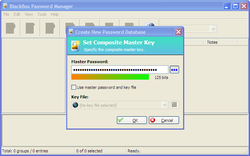 Black Box Password Manager screen2