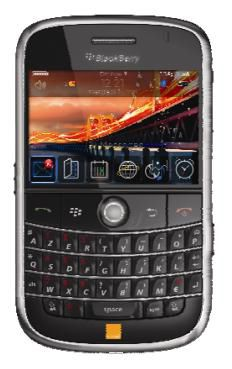 Blackberry Bold Orange