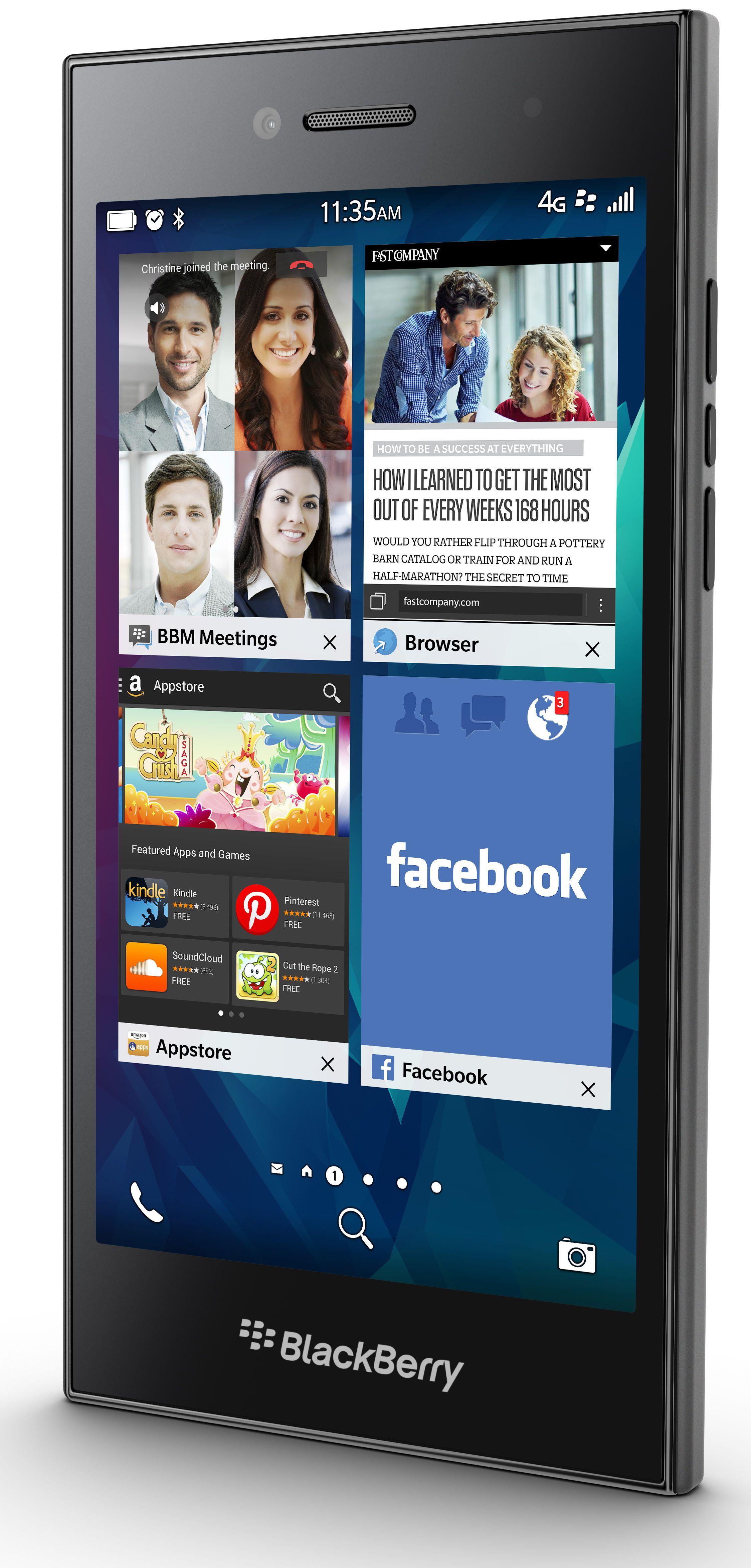 mwc 2015 blackberry pr sente son smartphone leap avec les nouveaut s 10 3 1. Black Bedroom Furniture Sets. Home Design Ideas
